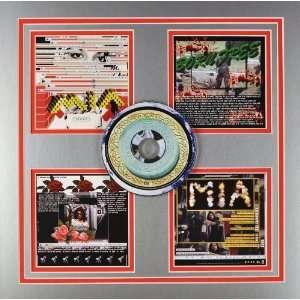 Hip Hop Hottie  15x15 inch Custom Matted CD Display