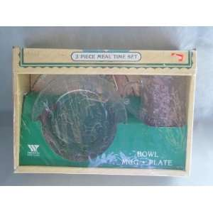 Vintage 1983 Wheaton Glass Cabbage Patch Kids Meal Time