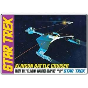 AMT 1/650 Star Trek Klingon Battle Cruiser Model Kit: Toys