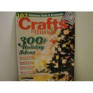 Crafts n Things December 2010 AbbyFoster Books