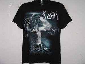 NEW KORN CRUCIFIY NU METAL ROCK BAND T Shirt Size XL