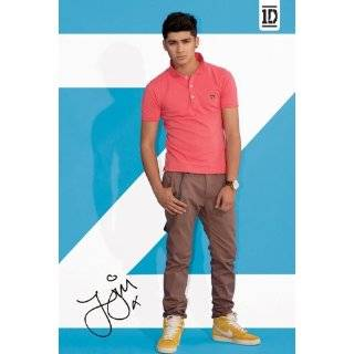 Pop Posters One Direction   Zayn   Light Blue   35.7x23.8 inches