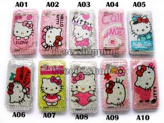 Hello kitty Rhinestone Bling Case HTC INCREDIBLE S G11