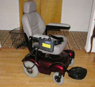 Electric Wheelchair +DL 5.2i Controller +Charger+Manual Merits?