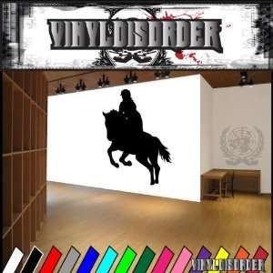 Horse Jumping NS003 Vinyl Decal Wall Art Sticker Mural
