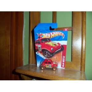 Hot Wheels Baja Beetle Thrill Racers 2011 Red: Everything