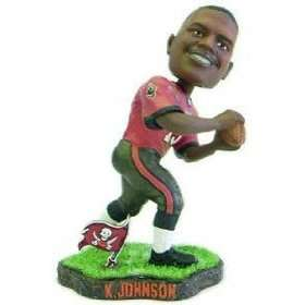 Keyshawn Johnson Game Worn Forever Collectibles Bobblehead