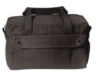 Heavyweight Cotton Canvas GI Style Black Mechanics Tool & Utility Bag