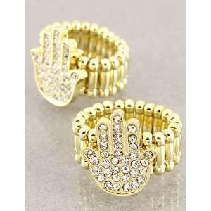 Fashion Jewelry Desinger Inspired Gold Evil Eye and Hamsa