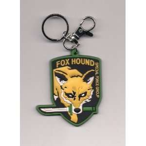 METAL GEAR SOLID Fox Hound PVC KEYCHAIN: Everything Else