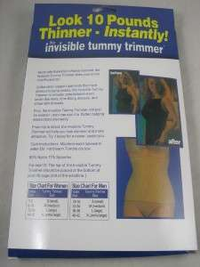 Invisible Tummy Trimmer Instant Body Shaper Girdle Corset Slimming