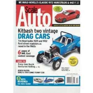 Scale Auto Magazine (kitbash two vintage drag cars