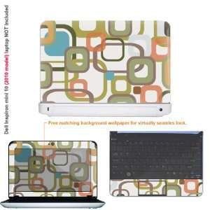 Protective decal sticker for Dell Inspiron 1012 case cover 10mini10 88