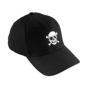 Ultimate Cycle Products Skull Baseball Cap Black w/Skull