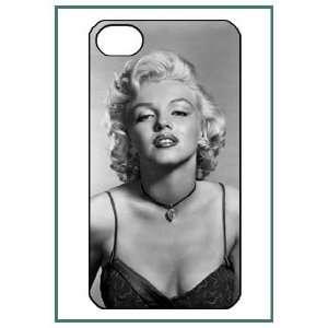 Marilyn Monroe iPhone 4 iPhone4 Black Designer Hard Case