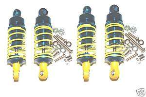 TEAM LOSI MINI LST GPM SUPER SHOCKS SET BLUE ALUMINUM
