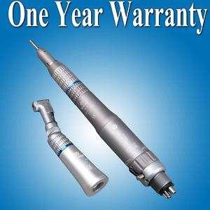 Dental low speed straight angle hand piece air motor