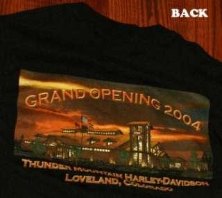Harley Davidson Loveland Colorado Biker T Shirt S