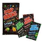 Pop Rocks Retro Fresh Bulk Vending Candy New 3 Pack FREE SHIP USA