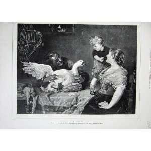 Zimmermann Royal Academy Arts Goose Man Little Boy