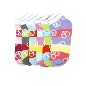 HS Women Fashion Ankle Socks Harmony Design (size 9 11) 6