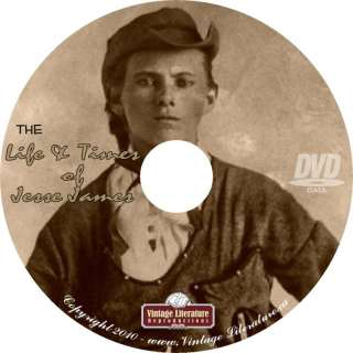 The Life and Times of Jesse James on DVD
