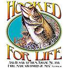 SHIRTS HOOK FISH WATER LINE FISHING JESUS CHRIST GOD BASS LURE CROSS