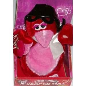 Singing Dancing Plush Red Bird Animated Love Pal Toys