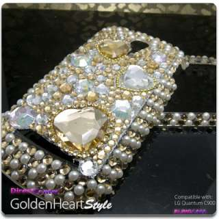 BLING Crystal Hard CASE COVER LG Quantum C900