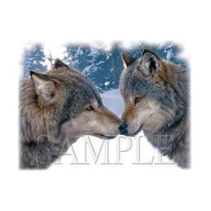 T shirts Animals Wildlife Wolf Xl