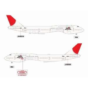 Jet X JAL B747 400 JA8084 LF Model Airplane Everything