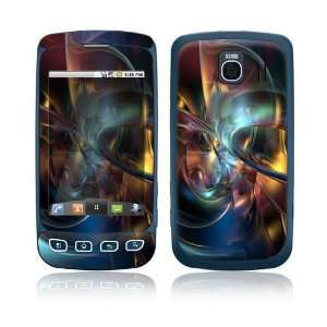 LG Optimus S Decal Skin Sticker   Abstract Space Art