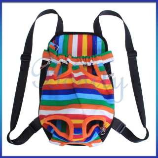 Pet Dog Cat Front Carrier Backpack Bag Travel Legs Out Bag XL