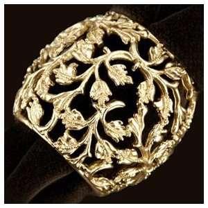 LObjet Lorel Gold Napkin Rings Set of Four Napkin Rings