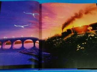 Kagaya Yutaka Art book Fantasy Railroad in the Stars