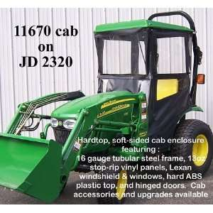 John Deere Tractor Hardtop Cab Enclosure for 2320 Compact