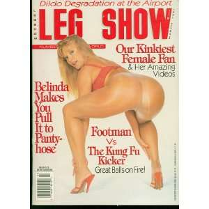 Leg Show Magazine March 1997: Books