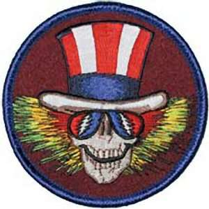 THE GRATEFUL DEAD UNCLE SAM EMBROIDERED PATCH Arts, Crafts & Sewing