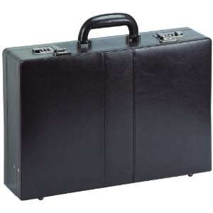 Solo Classic Collection Leather Expandable Attache (CLA420