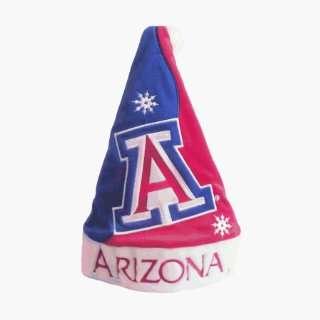 Arizona Wildcats Santa Claus Christmas Hat   NCAA College