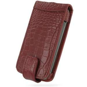 PDair Red Croco Leather Flip Style Case for T Mobile G1 Electronics