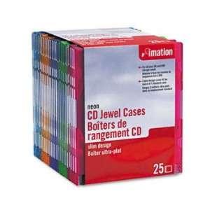 IMN41085   CD/DVD Slim Line Jewel Cases