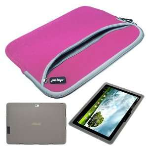 Laptop Dual Pocket Carrying Case for Asus Transformer Prime TF201