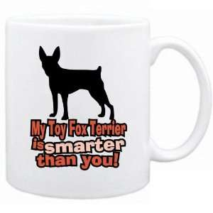 New  My Toy Fox Terrier Is Smarter Than You   Mug Dog