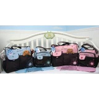 Trendy Boutique Black & White Zebra Striped Pink Zebra Diaper Bag