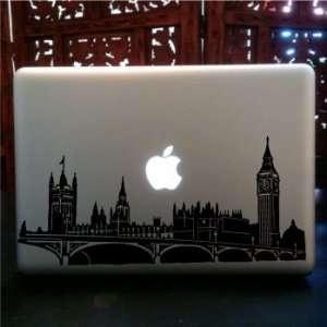 London Skyline macbook laptop Vinyl Decal
