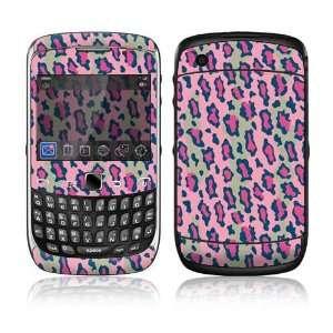 BlackBerry Curve 3G Decal Skin Sticker   Pink Leopard