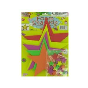 Do it yourself Foam Star Craft Kit