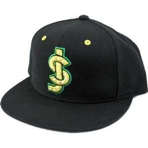 Shake Junt Classic Shake Junt Logo Hat Green Yellow Snap