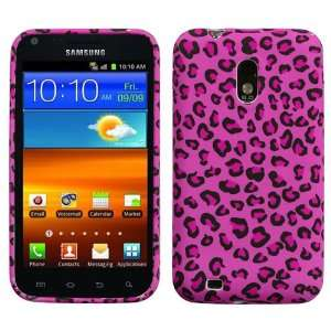 Pink Leopard Skin Candy Skin Cover For SAMSUNG D710(Epic